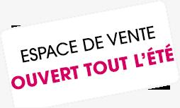 """Vignette """"Espace de vente ouvert tout l'été"""""""