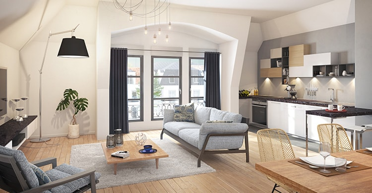 Appartement de la résidence Allée de Meudon à Clamart