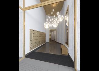 Hall d'entrée du programme immobilier Place Félix Eboué à Paris 12