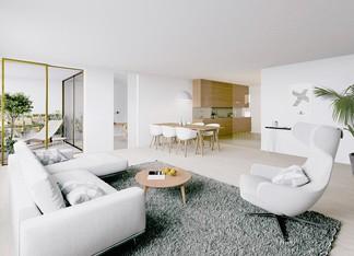 Appartement de la résidence Place Félix Eboué à Paris 12