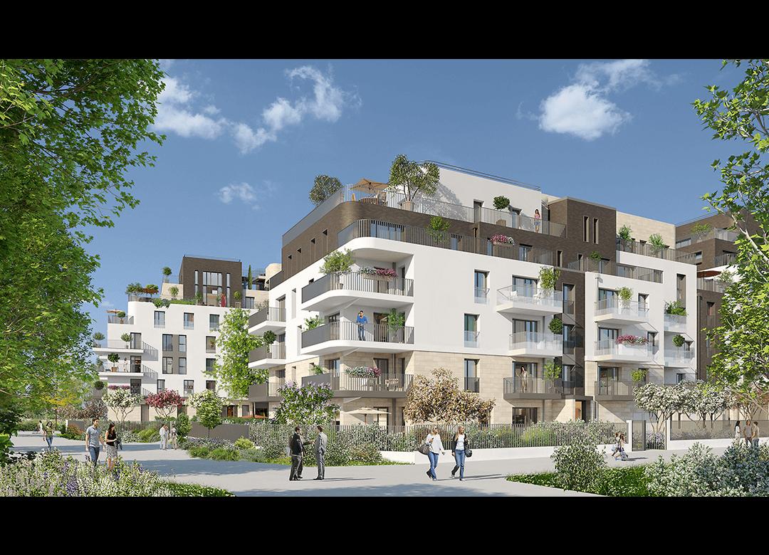 Rue des bons raisins rueil malmaison emerige - Architecture contemporaine residence parks ...