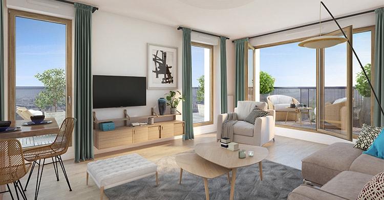 Appartement à Gennevilliers, les Allées Maria Casarès
