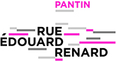 Logo Rue Edouard Renard à Pantin