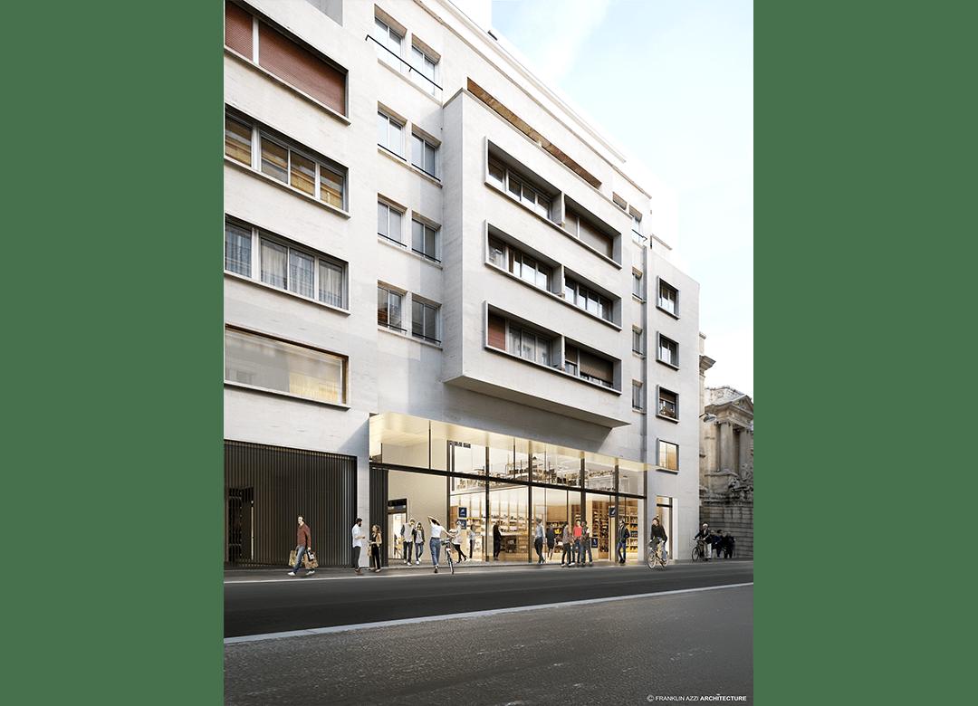 Meuble Salle De Bain Twist ~ Bac Raspail Grenelle Paris Emerige